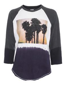 NSF Clothing Faro Palm Tree Print Grey