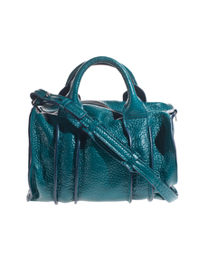 ALEXANDER WANG Rocco Inside-Out Pebbled Teal