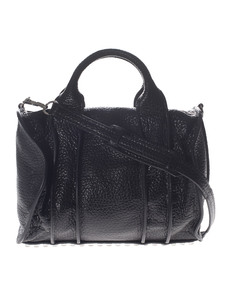 ALEXANDER WANG Rocco Inside-Out Shiny Black