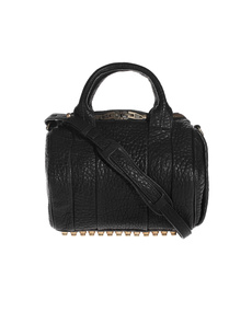 ALEXANDER WANG Rockie Soft Pepple Gold Black