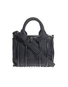 ALEXANDER WANG Rockie Inside-Out Rubber Black