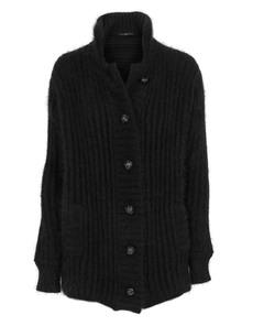 SLY 010 Embellished Button Black
