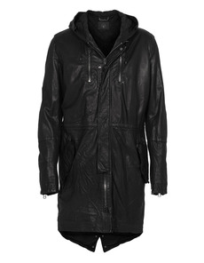 SLY 010 Long Leather Black