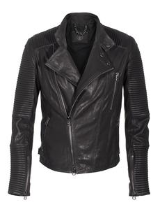 SLY 010 Biker Quilt Black