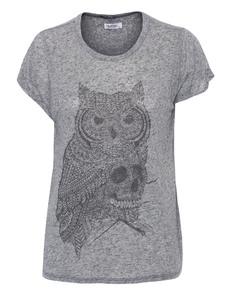 LAUREN MOSHI Edda Owl Heather Grey