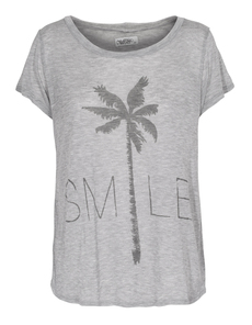 LAUREN MOSHI Riley Smile Palm Grey