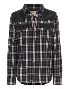 CURRENT/ELLIOTT The Western Houston Plaid Black