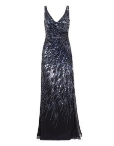 BARBARA SCHWARZER Sequin Silk Black