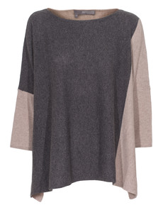 360 SWEATER Piper Sable Charcoal
