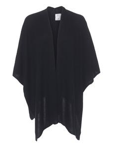 ALBEROTANZA Cash Fine Knit Wrap Black