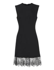 McQ by Alexander McQueen Fine Wool Blend Black