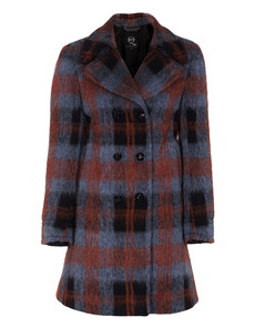 McQ by Alexander McQueen Tartan Paddington Blue Red