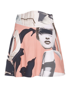 CARVEN Lady Urban Art Antique Pink