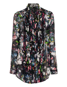 McQ by Alexander McQueen Edgy Floral Black