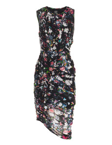 McQ by Alexander McQueen Smoked Fluid Floral Black