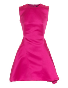 McQ by Alexander McQueen Gather Back Party Pink