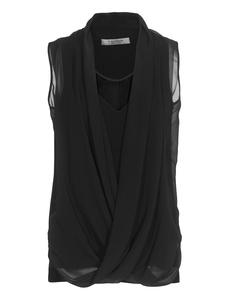 D.EXTERIOR Silk Drape Stretch Black