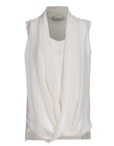 D.EXTERIOR Silk Drape Stretch Nude