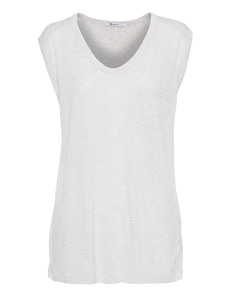 T BY ALEXANDER WANG Muscle Tee Light Grey