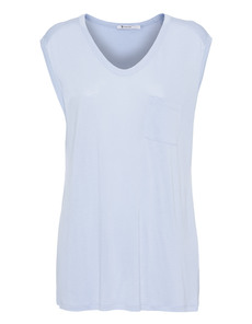 T BY ALEXANDER WANG Muscle Tee Sky Blue