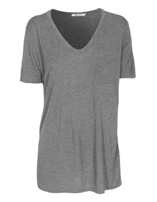 T BY ALEXANDER WANG Classic Pocket Heather Grey