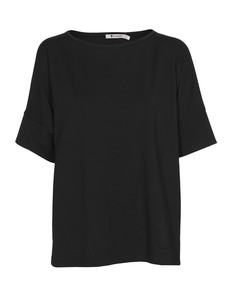 T BY ALEXANDER WANG Boxy Short Jersey Black