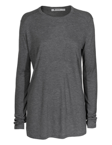 T BY ALEXANDER WANG Classic Pocket Long Grey