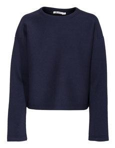 T BY ALEXANDER WANG Cropped Sweat Scuba Navy