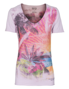 ATHLETIC VINTAGE NY FADED HAWAII ROSE