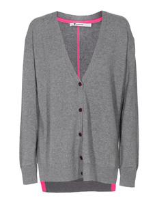 T BY ALEXANDER WANG Fine Knit Neon Stripes Grey