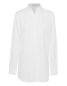 T BY ALEXANDER WANG Straight Long Button White