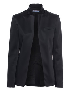 T BY ALEXANDER WANG Satin Collar Open Black