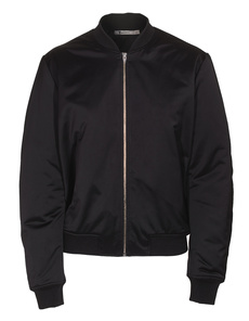 T BY ALEXANDER WANG Technical Memory Satin Bomber