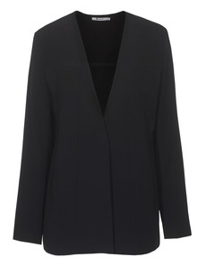 T BY ALEXANDER WANG Draped Suiting Black