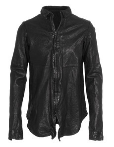 JULIUS Shirt Leather Black