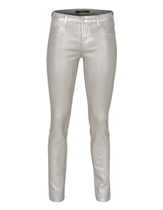 J BRAND 485 Glossed Metallic Oyster Silver