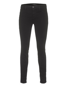 J BRAND 485 Mid Rise Luxe Sateen Black