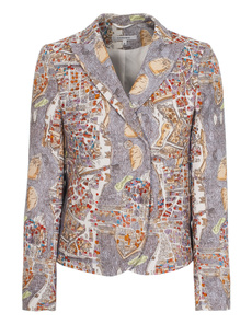 CARVEN Veste Imprint Paris Map