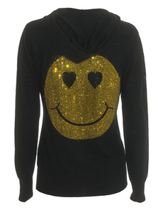 AMOR&PSYCHE Glam Smiley Black