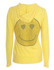 AMOR&PSYCHE Glam Smiley Yellow