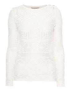 EMILIO PUCCI Crochet Long Off White