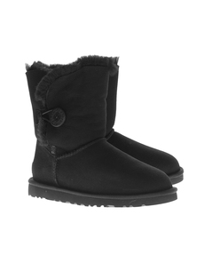UGG Short Bailey Button Black
