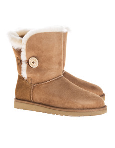 UGG Short Bailey Button Chestnut