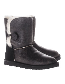 UGG Bailey Button Bomber Brown