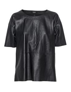 STAND BLACK NUDE Clean Mid Slit Black