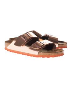 Birkenstock Arizona Metallic Copper Bronze