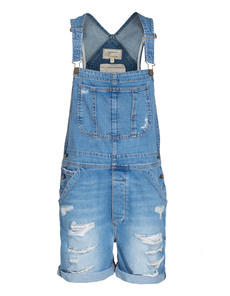 CURRENT/ELLIOTT The Shortall Tattered Destroy Blue