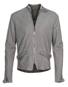 GIORGIO BRATO Stamped Leather Grey