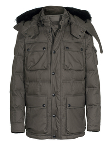 BELSTAFF Atherstone Down Faded Olive