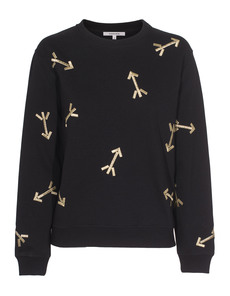 CARVEN All Over Arrow Black